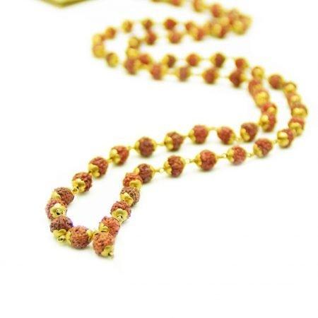 Holy Mantra Mala Gold