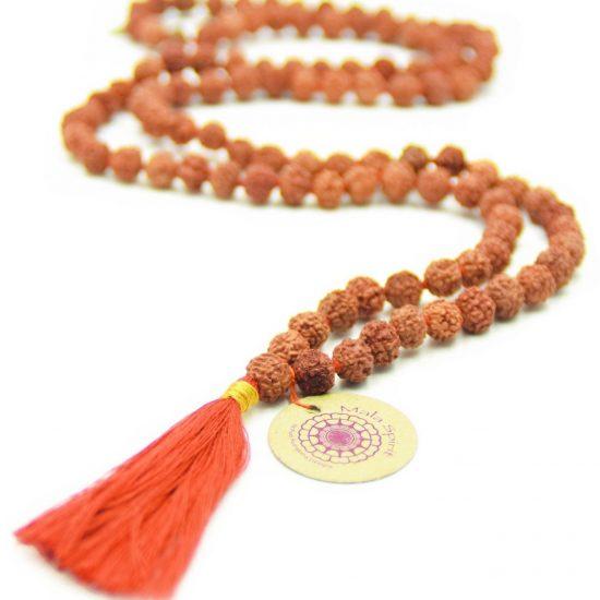 Holy mala (rood/oranje kwastje)