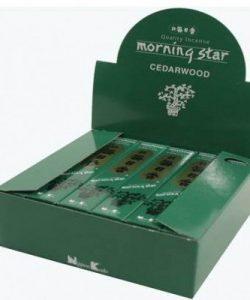Wierook Morning Star cederhout
