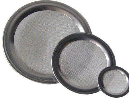 Wierook accessoires: rvs zeef 9 cm