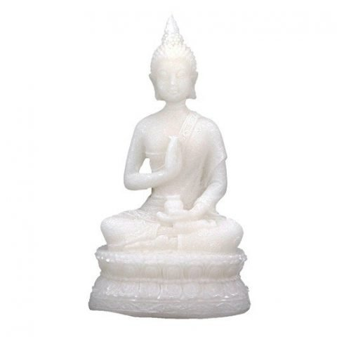 Boeddha beeld + Amrita vaas