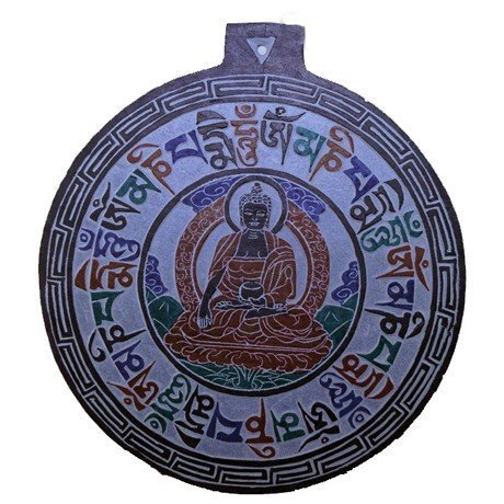 Leisteen reliėf Boeddha OMPMH