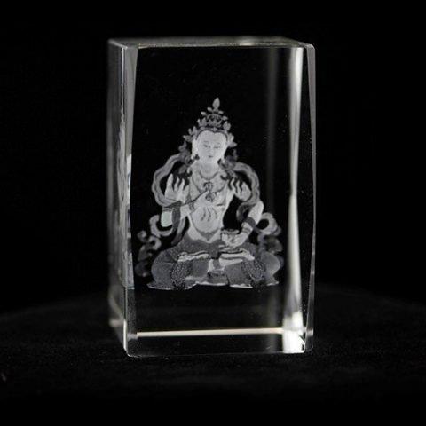 Kristal laser Vajrasattva Boeddha AA