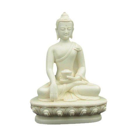 Boeddha beeld klein wit