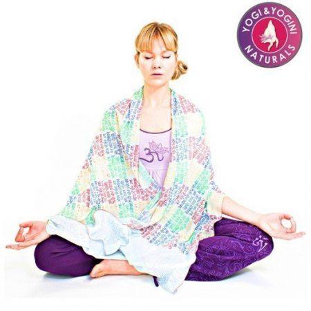 Yoga meditatie omslagdoek