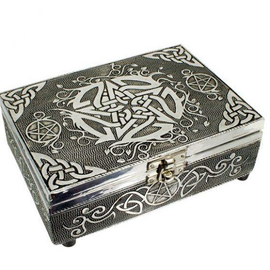 Tarot of sieradendoos Pentagram