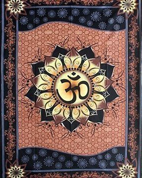 Wandkleed OM lotus