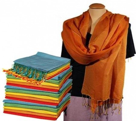 Chakra sjaal oranje