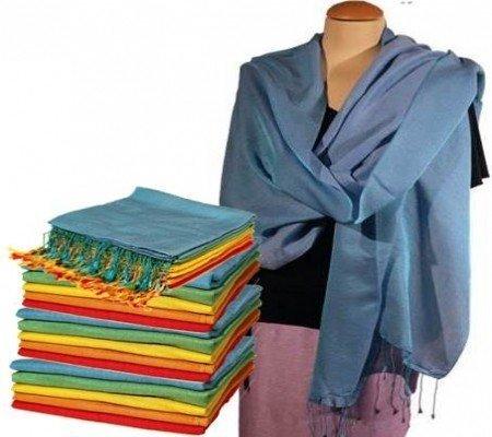 Chakra sjaal blauw