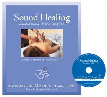 Stemvorken boek & dvd Sound Healing with Tuning Forks