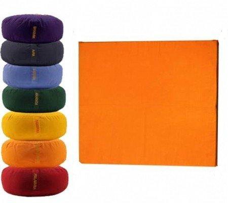 Meditatiemat hoes oranje 2e chakra