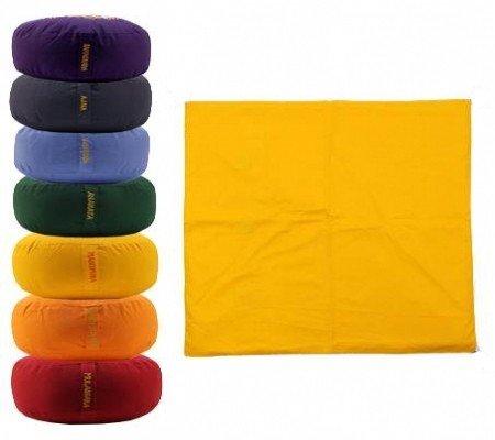 Meditatiemat hoes geel 3e chakra