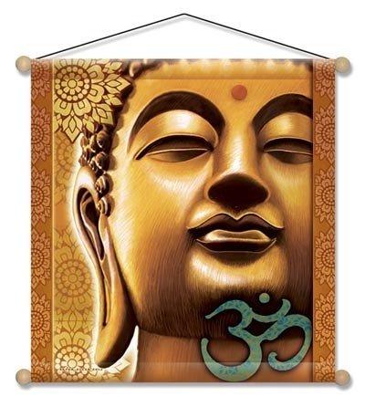 Meditatie banner Gouden Boeddha