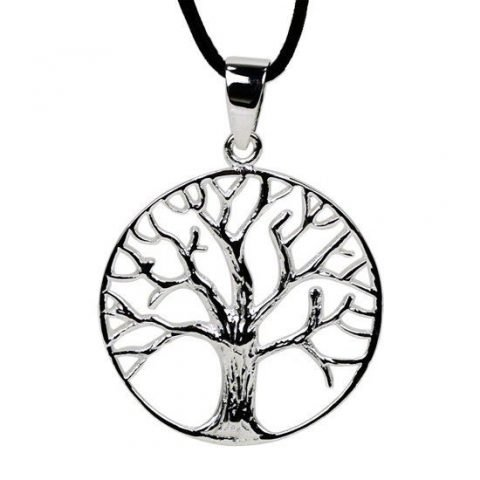 Hanger Tree of Life sterling zilver