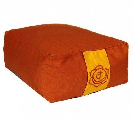 Meditatiekussen oranje 2e chakra