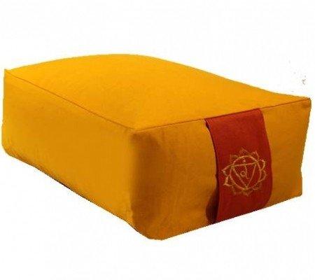 Meditatiekussen geel 3e chakra