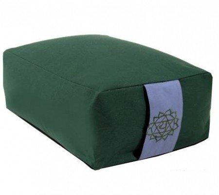 Meditatiekussen groen 4e chakra