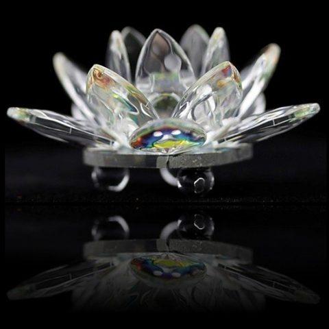 Kristallen lotus / klein