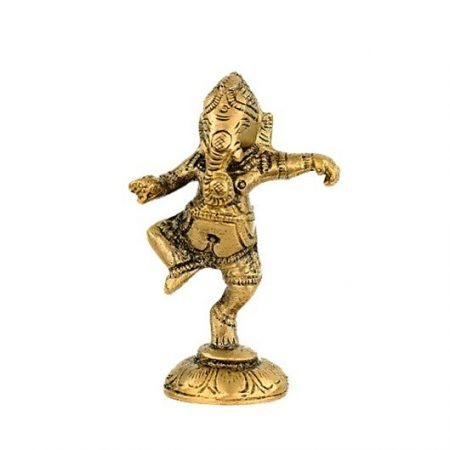 Ganesha dansend messing