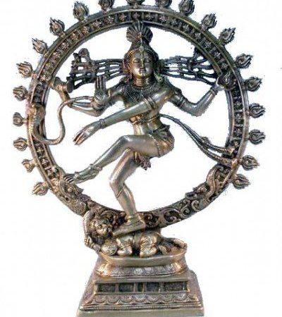 Shiva Nataraj messing 1 kleur groot