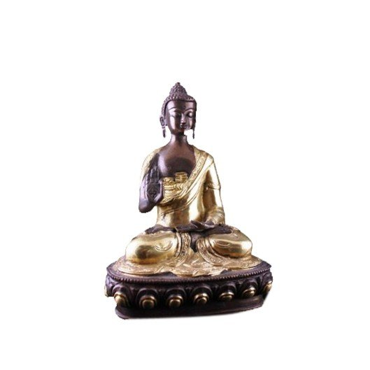 Boeddha Teaching beeld 2-kleurig