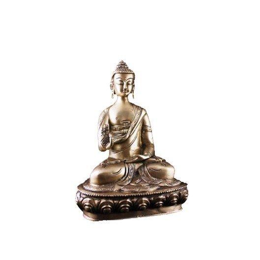 Boeddha Teaching beeld enkelkleurig