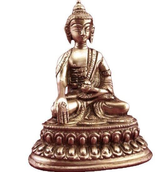 Minibeeldje Boeddha Ratnasambhava