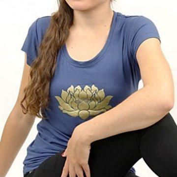 Yoga T-shirt Lotus
