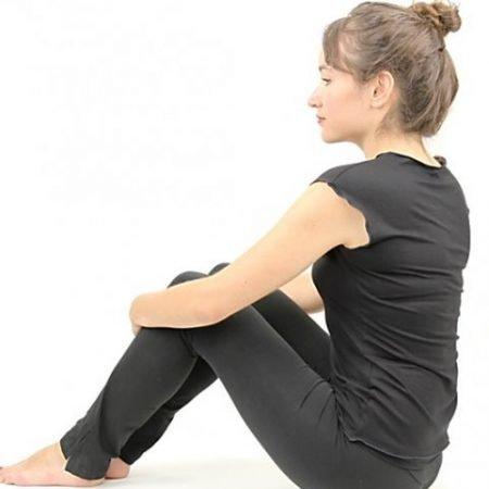 Yoga T-shirt 'Flower of life'