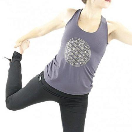 Yoga top 'Flower of life'