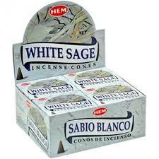 White Sage Kegeltjes