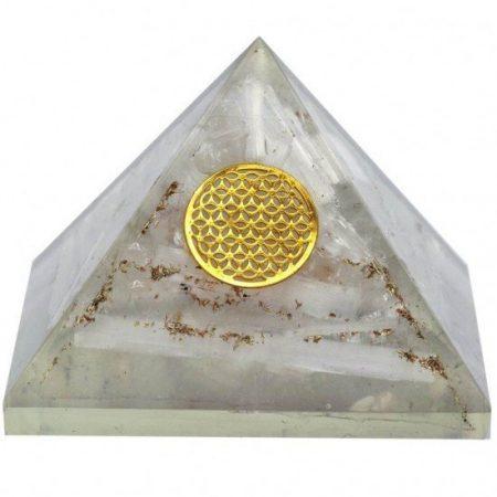 Piramide orgonite seleniet