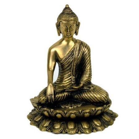 Boeddha Shakyamuni beeld Lotus