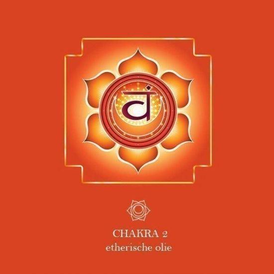 Etherische olie 2e Chakra (Heiligbeen) - Swadisthana