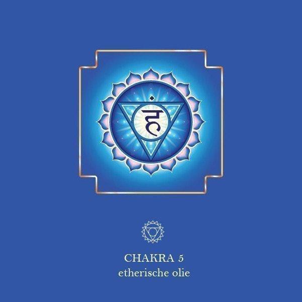 5e Chakra (Keel) - Vishuddha etherische olie