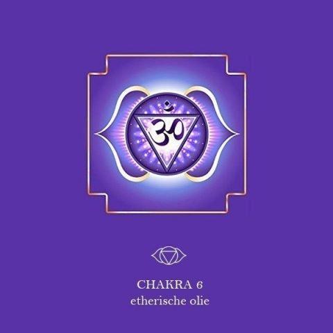 6e Chakra (Derde Oog) - Ajna etherische olie