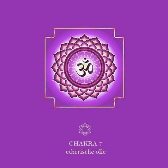 7e Chakra (Kruin) - Sahasrara etherische olie