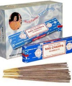 Wierook Satya Nag Champa Agarbatti klassiek staafjes 40 gram