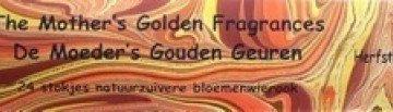 Herfstblaadjes Goud 24 stokjes