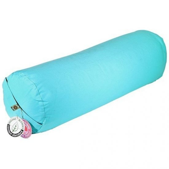 Bolster turquoise rond