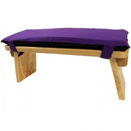 Meditatiebankkussen violet